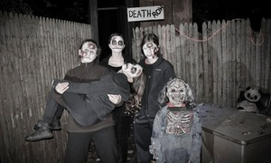 Haunted Trail Of Horrors: Admission for Two, Four, or Eight at Haunted Trail of Horrors (50% Off)