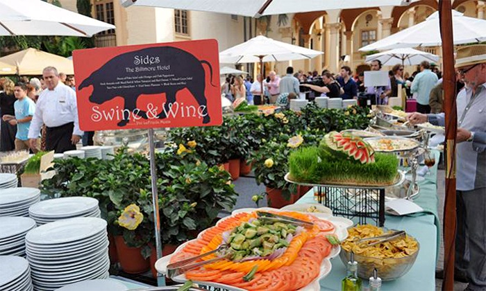 Goya Foods' Swine & Wine - Biltmore Hotel Coral Gables: Goya Foods' Swine & Wine Hosted by Lorena Garcia on February 28, at 5:30 p.m.