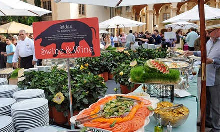 $80 for Goya Foods' Swine & Wine Hosted by Marc Forgione at South Beach Wine & Food Festival on Sunday, February 22 ($171.50 Value)