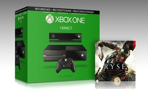 Xbox One Console and Kinect Sensor