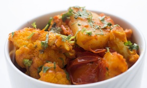Basera Indian Bistro: Indian Food for Two or Four at Basera Indian Bistro (50% Off)