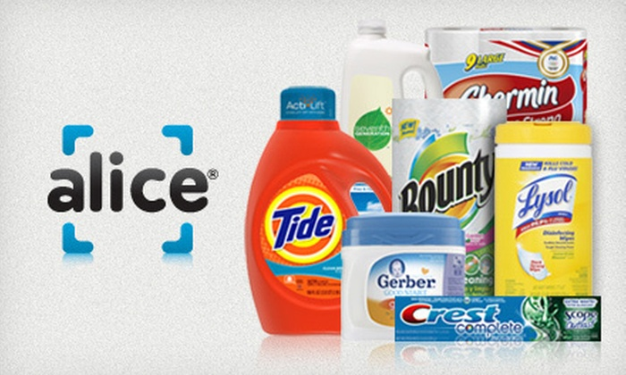 Alice.com: $20 for $40 Worth of Delivered Household Essentials from Alice.com