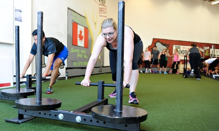 Month of Unlimited Boot-Camp Classes or Eight-Week Boot-Camp Package at The Bootcamp Effect (Up to 75% Off)