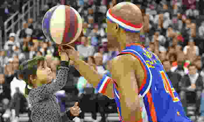 Harlem Globetrotters - AT&T Center: $40 to See Harlem Globetrotters Game at Rose Garden on Saturday, February 23, at 2 p.m. or 7 p.m. (Up to $81 Value)