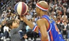 Harlem Globetrotters **NAT** - AT&T Center: $40 to See Harlem Globetrotters Game at Rose Garden on Saturday, February 23, at 2 p.m. or 7 p.m. (Up to $81 Value)
