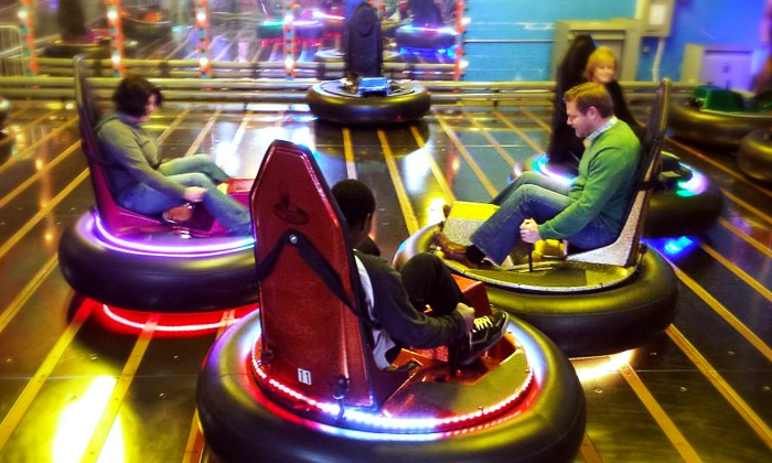 Arnold's Family Fun Center - Upper Providence: Krazy Kars, Bumper Cars, Mini Golf, and Rock Wall for Two or Four at Arnold's Family Fun Center (Up to 52% Off)