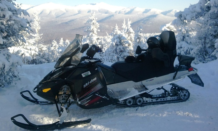 SledVentures Snowmobile Rentals - Lincoln: Guided Snowmobile Tour from SledVentures Snowmobile Rentals (Up to 49% Off). Four Options Available.