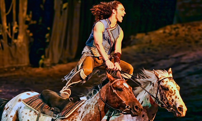 "Odysseo - Port Lands, Toronto: ""Odysseo: The Equestrian Spectacular"" by Cavalia at Port Lands on May 24–31 (Up to 38% Off)"