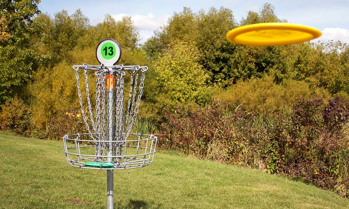 Trophy Lakes - Charleston: Disc-Golf Outing for Two or Four at Trophy Lakes (Up to 57% Off)