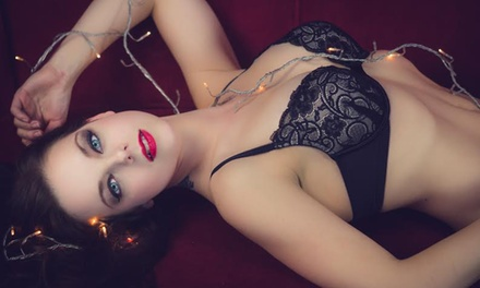 Photo Shoot with Digital Images or Boudoir Session with Prints from Jezebel VonZephyr Boudoir (Up to 94% Off)