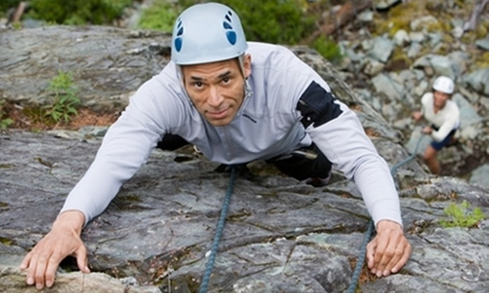 Rock-N-Row - Cotopaxi: Half-Day Beginner Outdoor Rock-Climbing Lesson for One or Two from Rock-N-Row (Up to 60% Off)