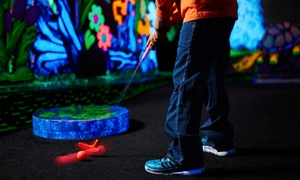 Putters Wild: 18 Holes of Indoor Black-Light Mini Golf for Two, Four, or Six at Putters Wild (Up to 50% Off)