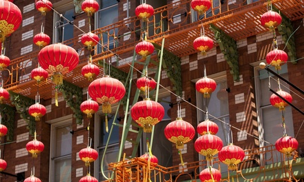 Chinese New Year Walking Tour for Two from Oldest Chinatown Talking Tours (50% Off). Nine Options Available.
