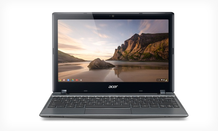 Acer 11 6 Quot Chromebooks With 16gb Ssd Groupon