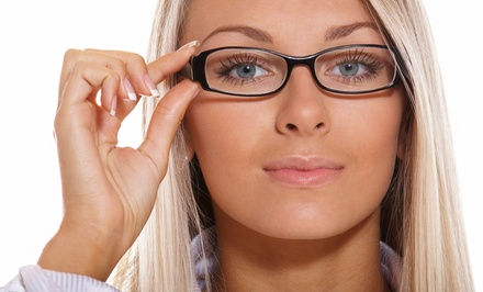 Eye Exam and $100 Towards Prescription Glasses at ClearVision Eye Care ($300 Total Value)