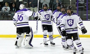 College of the Holy Cross: Holy Cross Women's or Men's Basketball Game or Men's Ice Hockey Game (February 21 or 27)