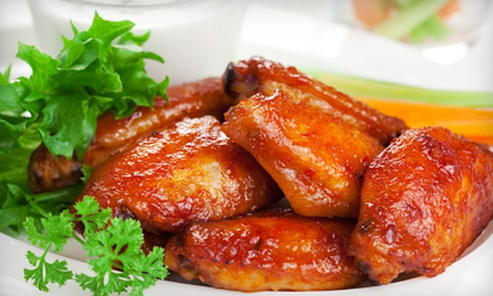 Krazy Cactus Restaurant & Sports Bar - Meadowvale: $25 for 2 Pounds of Wings, Beer, and Fries or Onion Rings at Krazy Cactus Restaurant & Sports Bar ($46.83 Value)