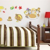 Thanksgiving-Themed Draw-On Wall Decals
