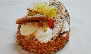 Pasticceria d' arte: 1 o 2 kg di torta alla panna con decorazione (sconto fino a 71%)