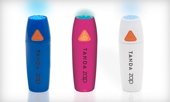 Tanda Zap Acne Spot-Treatment Device: $24 for a Tanda Zap Acne Spot-Treatment Device in Blue, White, or Pink ($49 List Price)
