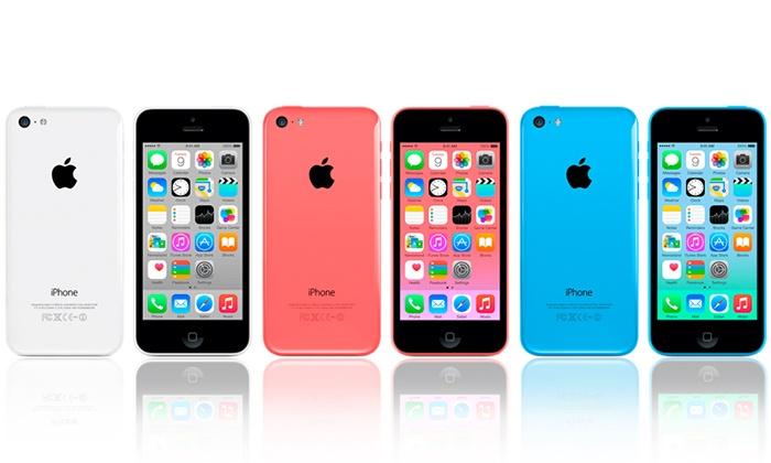30150b1f229efe Refurbished 16GB Apple iPhone 5C | Groupon Goods