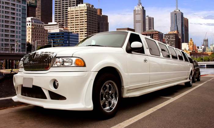 LUXE Limousine - On Location: $199 for Three Hours of Limousine Service for Up to 14 Passengers in a Stretch SUV  ($750 Value)