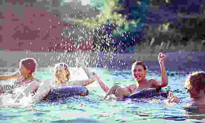 Corner Tubes - New Braunfels: All-Day Inner Tubing at the Comal River for Two, Four, or Eight from Corner Tubes (Up to 57% Off)