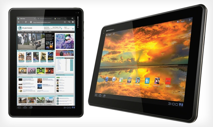 "Motorola Xoom Family Edition 10.1"" Tablet: $189.99 for Motorola Xoom 16GB 10.1"" Tablet (Manufacturer Refurbished) ($259.99 List Price). Free Shipping and Returns."