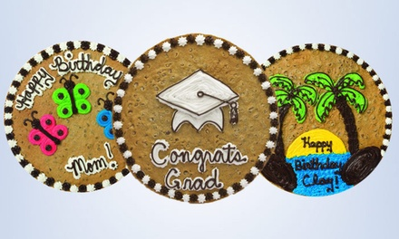 Two $10 Vouchers for Cookies or One 12-Inch Cookie Cake at Great American Cookies (Up to 45% Off)