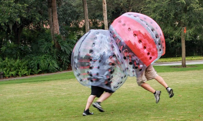 Knockerball  - Knockerball: Bubble Soccer Walk-On Games or One-Hour Private Party at Knockerball (Up to 52% Off). Eight Options Available.