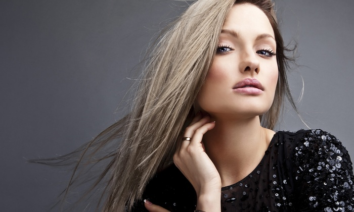 Studio Hair Design - Carmichael: Cut and Style with optional Partial Highlights, Full Color, or Keratin Treatment at Studio Hair Design (Up to 53% Off)