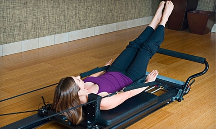 Pilates+Yoga - Paradise: 10 Pilates Mat or Fitness Classes or 5 or 10 Pilates Reformer Classes at Pilates + Yoga (Up to 79% Off)