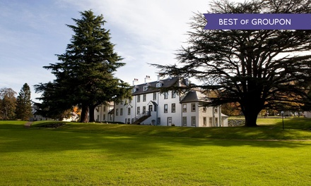 Perthshire: 1 or 2 Nights for Two with Breakfast, Spa Access and Option for Dinner Credit at Moness House Hotel