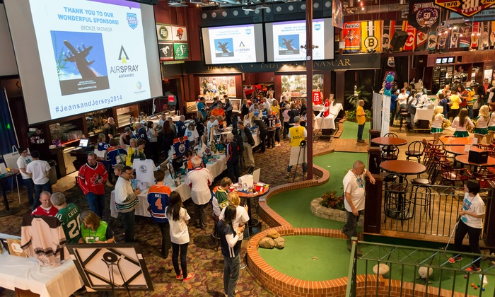 Alberta Diabetes Foundation - Schanks Sports Grill: Jeans & Jersey Fundraiser for One or Two on April 24 Benefiting Alberta Diabetes Foundation (Up to 50% Off)