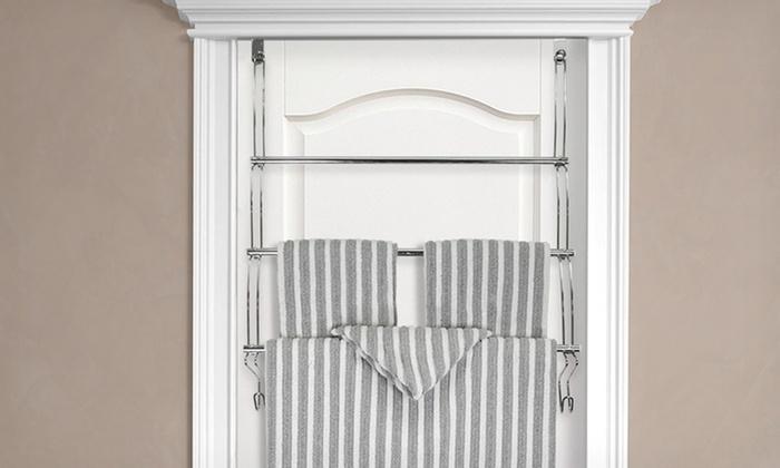 Over-the-Door 3-Tier Steel Towel Rack: $12.99 for an Over-the-Door 3-Tier Steel Towel Rack ($27.99 List Price). Free Returns.
