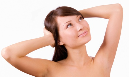 Six Laser Hair-Removal Treatments on an Extra-Small, Small, or Medium Area (Up to 80% Off)