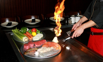 $12.50 for $25 Worth of Japanese Hibachi Dinner at Samurai Sushi and Steakhouse