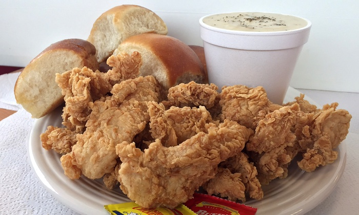 Bush's Chicken  - Bush's Chicken: Fried Chicken and Comfort Food or 15-Piece Family Meal at Bush's Chicken (Up to 40% Off)