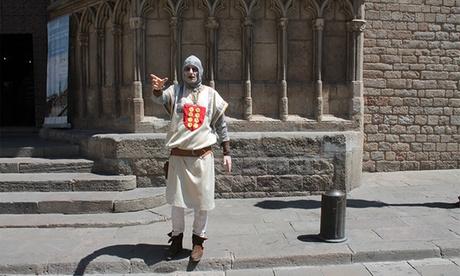 Ruta guiada por El Born Medieval, Barrio Gótico o Terrorífica para una o dos personas desde 7,90 €