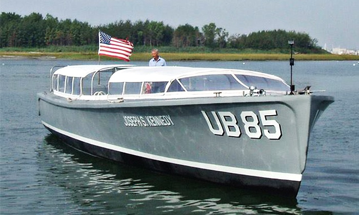 Joseph S. Kennedy UB85 - Boston: Boat Tour of Boston Harbor for Two or Four Aboard the Joseph S. Kennedy UB85 (38% Off)