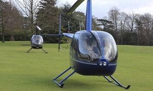 Northumbria Helicopters: Six-Mile Helicopter Buzz Flight with Northumbria Helicopters