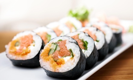Two Hours of All-You-Can-Eat Sushi with Choice of Three Drinks or Teriyaki at Kumo Sushi (Up to 41% Off)