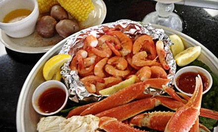 Seafood and sandwiches fish bone grill groupon for Fish bone grill dallas