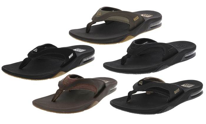 f07c038b2f00f Up To 18% Off on Reef Men's Low-Top Sandals | Groupon Goods
