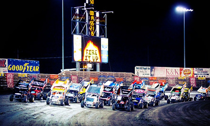 Knoxville Raceway - Knoxville: Professional Dirt-Racing Events at Knoxville Raceway (Up to Half Off). Three Options Available.