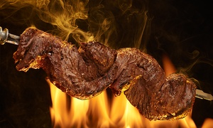 Rodizio Grill Las Colinas: Brazilian Steakhouse Dinner for Two or Four at Rodizio Grill Las Colinas (Up to 37%Off)