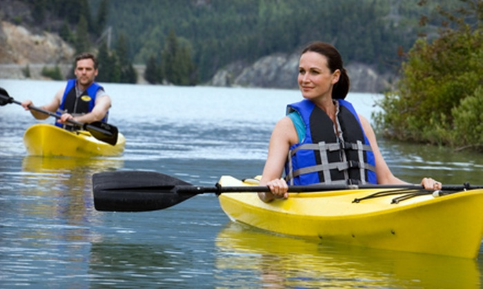 Black Hall Outfitters - Old Lyme: Two-Hour Kayak Rental for 2 or Four-Hour Rental for 6, 8, or 10 from Black Hall Outfitters (Up to 54% Off)