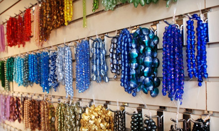 Beadles - Multiple Locations: Beads, Findings, and Beaded Jewelry at Beadles (Up to 63% Off). Three Options Available.