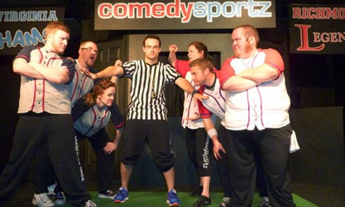 ComedySportz Improv Theatre - Henrico: Improv Show for Four or Kids' Improv Camp at ComedySportz Improv Theatre in Henrico (Up to 51% Off)