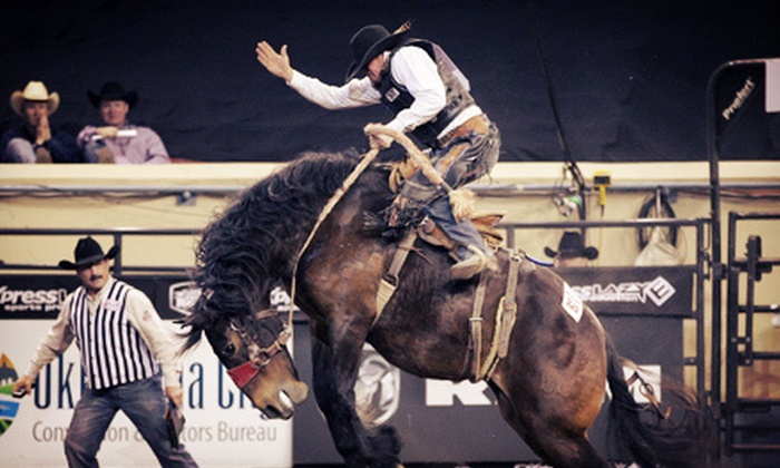 RAM National Circuit Finals Rodeo - Central Oklahoma City: RAM National Circuit Finals Rodeo Event for Two or Four at Jim Norick Arena at Oklahoma State Fair Park (Up to 55% Off)